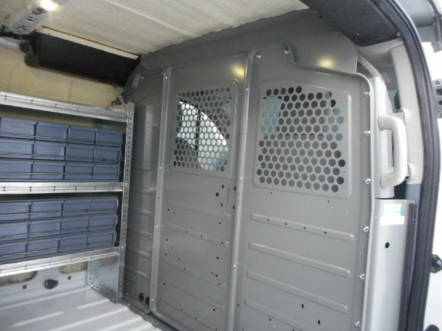 Low roof Transit van , with spray insulation